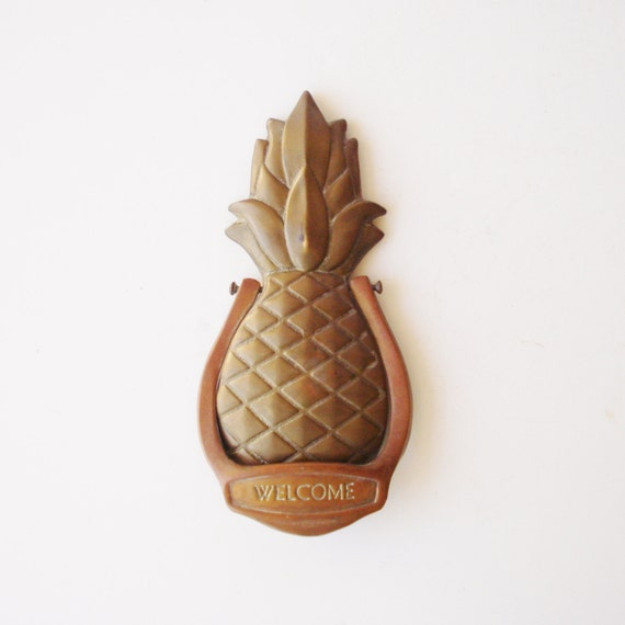Pineapple Door Knocker Roselawnlutheran