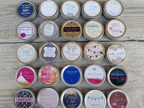 50 - Burlap & Lace Favors, Rustic, Lip Balms, Custom Labels, Wedding Favor, Bridal Shower, Baby Shower