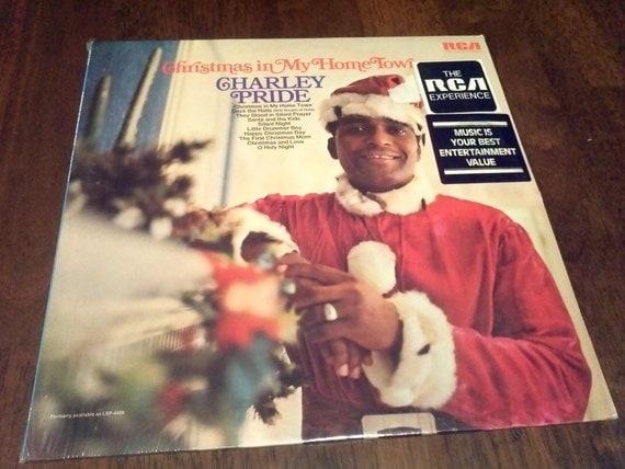Vintage 1970 Factory Sealed Charlie Pride Christmas Vinyl