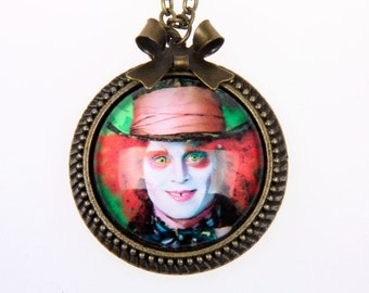 Necklace Mad Hatter, alice