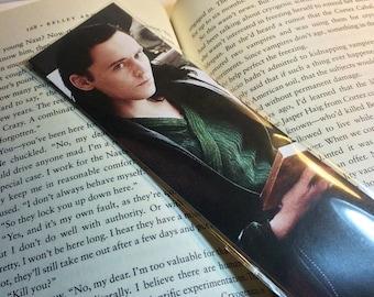 Loki Reads, Tom Hiddleston Bookmark