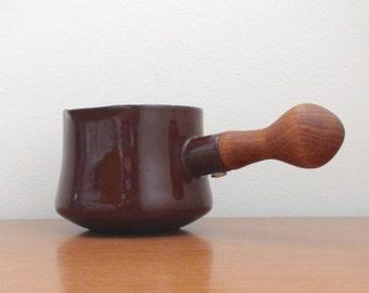 Vintage Dansk Kobenstyle Butter Warmer -- Brown