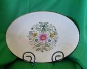 Rare Lenox Cascade Gold Backstamp Medium Platter, Near Mint,