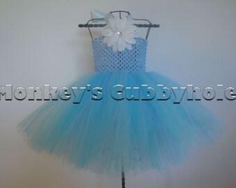 Baby Blue Tutu Dress