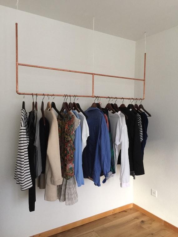 copper clothes hanger. Black Bedroom Furniture Sets. Home Design Ideas