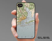 Vintage Pensacola Florida Map Case for iPhone 6/6Plus, iPhone 5/5s, or iPhone 4/4s, Samsung Galaxy S6, Galaxy S5, Galaxy S4, Galaxy S3