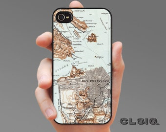 Vintage San Francisco Phone Case for iPhone 6/6S, 6+/6S+, 5/5S, 5C, 4/4S, iPod Gen 5, Samsung Galaxy S6, Galaxy S5, Galaxy S4, Galaxy S3