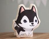 Husky Pillow