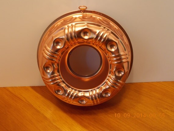 Wall Decoration Rings : Items similar to copper ring jello mold wall