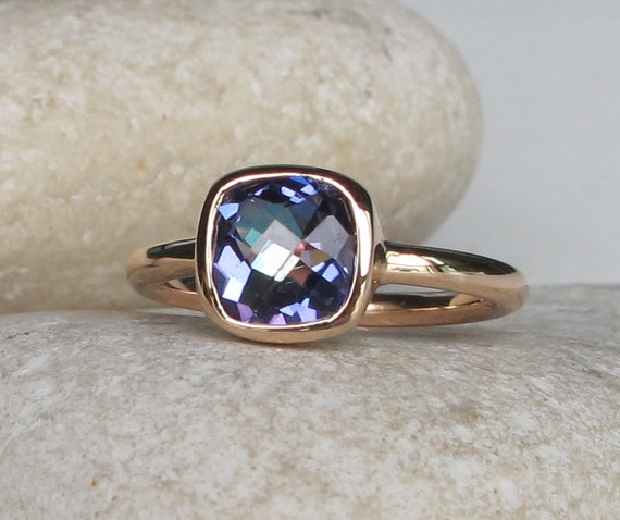 Mystic Topaz Ring Silver Topaz Ring Rainbow Ring Gifts For