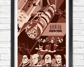 ALL Babylon 5 - Posters - 12 x 7.8 inches Posters