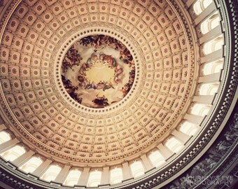 US Capitol Dome - Washington DC art, fine art photo, architecture, wall art, United States, photograph, home decor