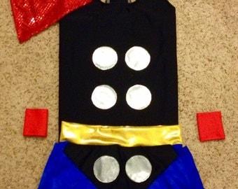 TPR Super hero running costume
