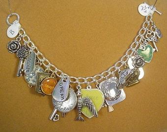 "Charm Bracelet - ""It's all Good!"" 7-1/2"" of FUN! - B014"