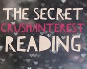 The Secret Crush/Interest  Tarot Reading- Video or MP3