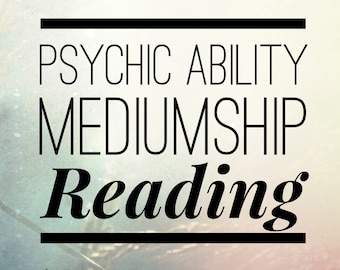 Psychic Ability Mediumship Board VIDEO Reading (Discover and develop your abilities)