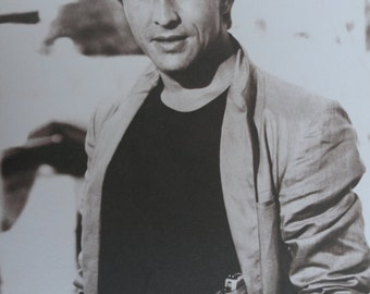 """Don Johnson from the 80s Sepia print  HUGE 11x14"""""""