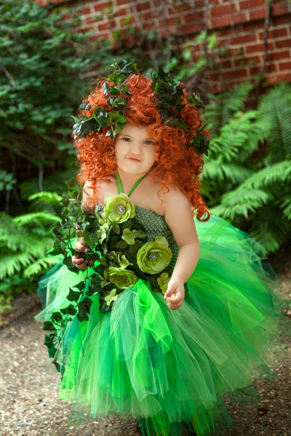 ... costumes kids y poison ivy costume diy ...  sc 1 st  Best Kids Costumes & Kids Poison Ivy Costume - Best Kids Costumes