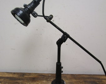 Antique Singer SLF-2 Industrial Articulating Sewing Table Light Lamp Steampunk