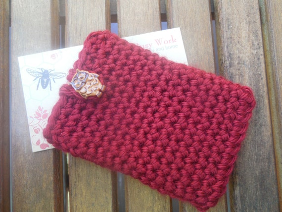 Christmas Holiday Red Gift Card - Business Card - ID - Holder,
