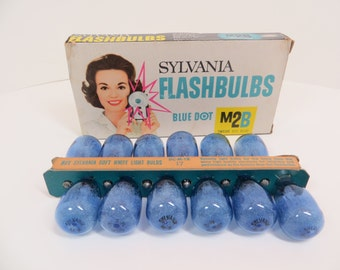 Vintage Sylvania Flashbulbs