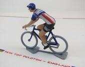 Roger De Vlaeminck Tour De France - Brooklyn - Paris Roubaix - 1974 -  Handcrafted French Metal Cycling Figure
