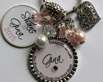 Bridal Shower Gift Daughter In Law : Personalized Future DAUGHTER in LAW GIFT, bride to be The woman who ...