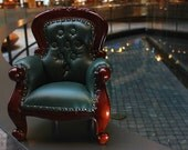 Pythias Spoonback Chair - Tufted