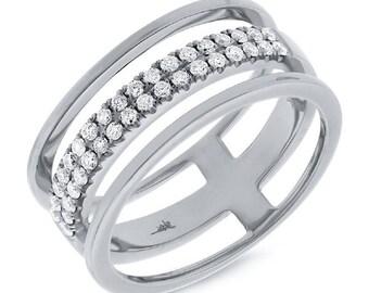 Beautiful Gold Diamond Ring BXSC22003719