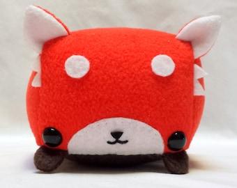 Rectangle Animals Red Panda Plush READY TO SHIP