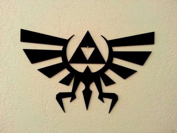 Zelda Wall Decoration : Legend of zelda metal wall art