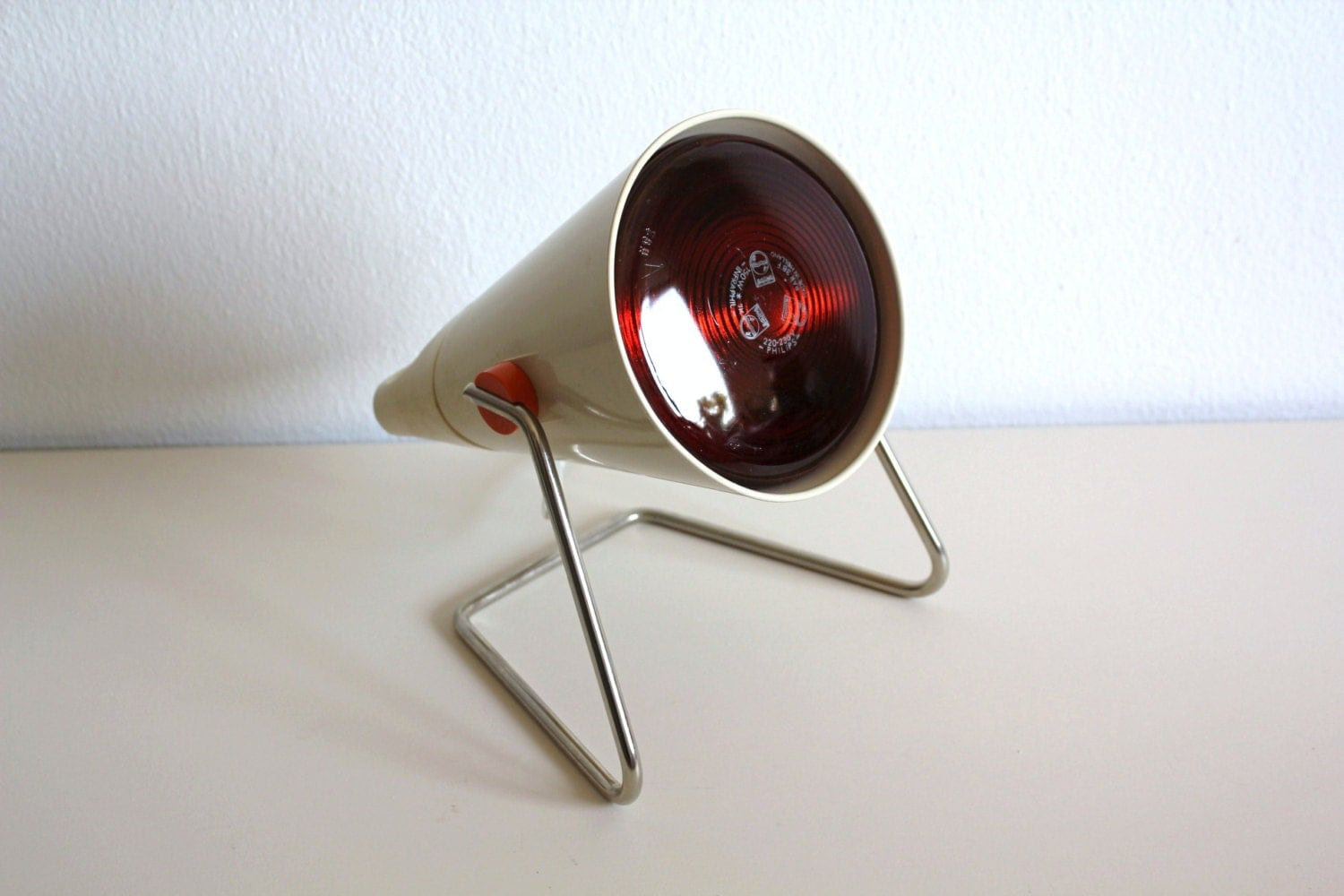 vintage philips infrared lamp 1970s medical by cakenumber9 on etsy. Black Bedroom Furniture Sets. Home Design Ideas