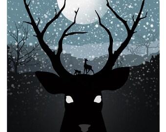 Bambi Mini Print