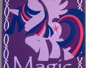 Twilight Sparkle - Element of Harmony - An artistic rendition presented in a high quality 8 X 10 print. My Little Pony, Friendship is Magic.