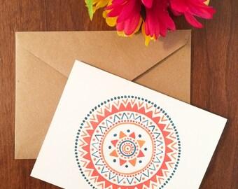 Mandala Greeting Card Set