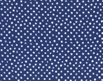 Confetti Dots in Navy by Dear Stella
