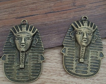5pieces 45*35MM Egypt  charm  -  antique bronze charm pendant  Jewelry Findings