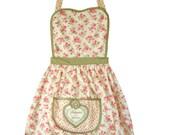 Vintage Style Apron floral chintz