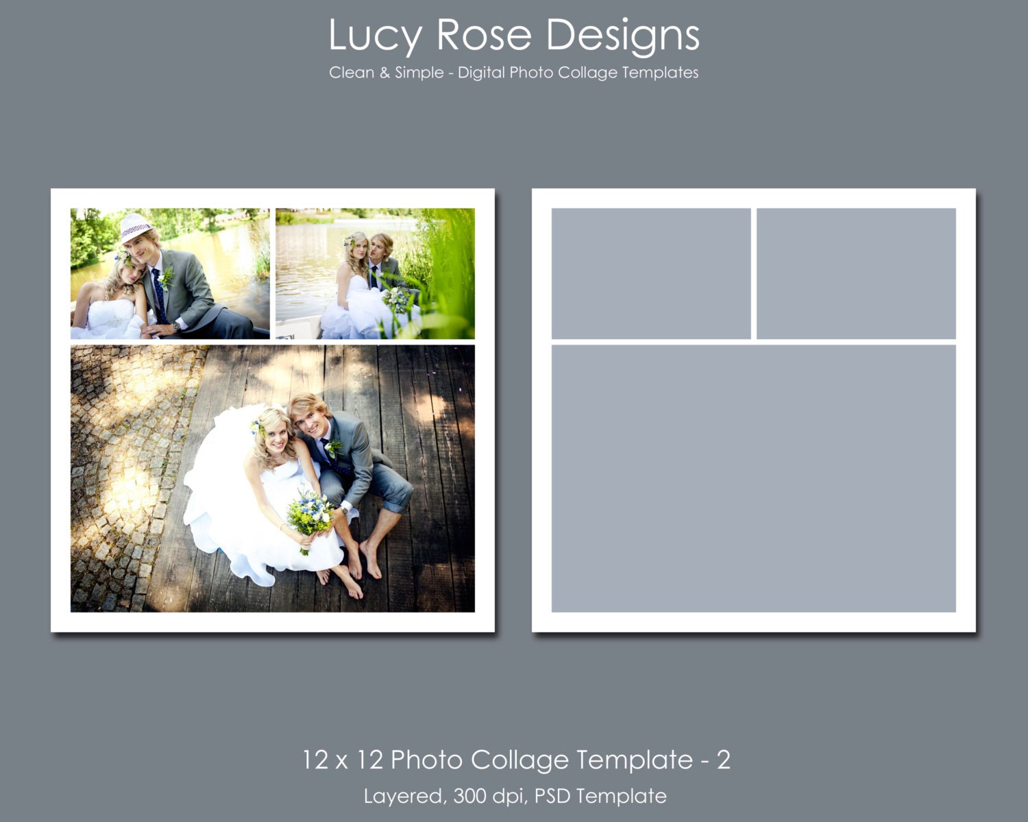12 x 12 photo collage template 2. Black Bedroom Furniture Sets. Home Design Ideas