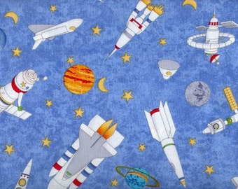Popular items for shuttle satellite on etsy for Space shuttle fabric