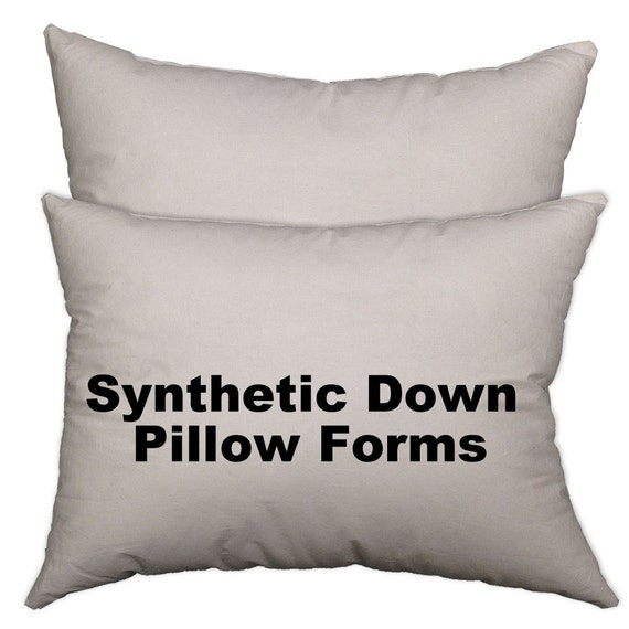 Pillow forms pillow insert synthetic down alternative all for Best down pillow inserts
