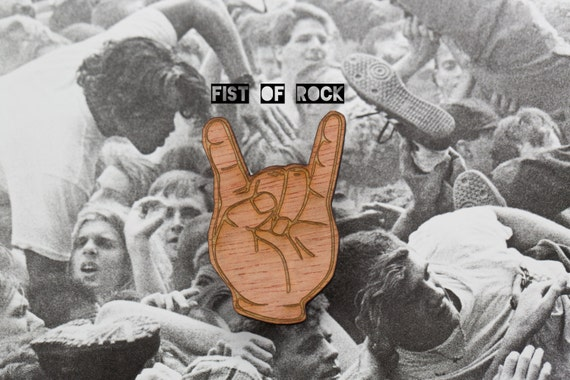 Fist of rock
