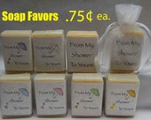 Baby Shower Favors - Shower Favor - Soap Party Favors - Baby Shower Favor - handmade soap favors - Baby Favors