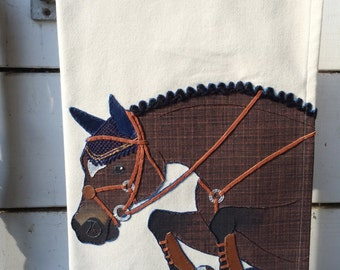 The Tea Towel: Custom Jumper Edition- Functional Artwork for the Equestrian Home