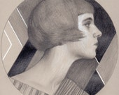 Lilian Original Drawing