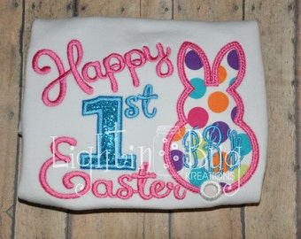 Persoanlized First Easter Bunny Shirt