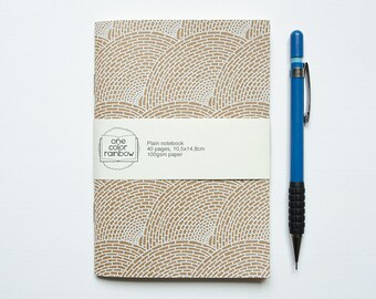 Notebook Waves pattern