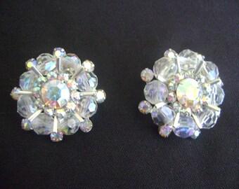 Vintage Weiss Clip-On Earrings