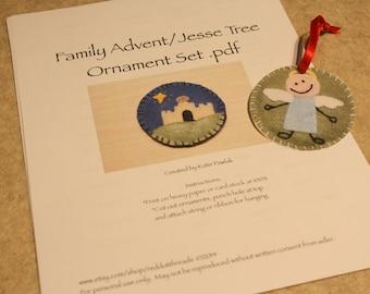 Jesse Tree Advent Ornament PDF
