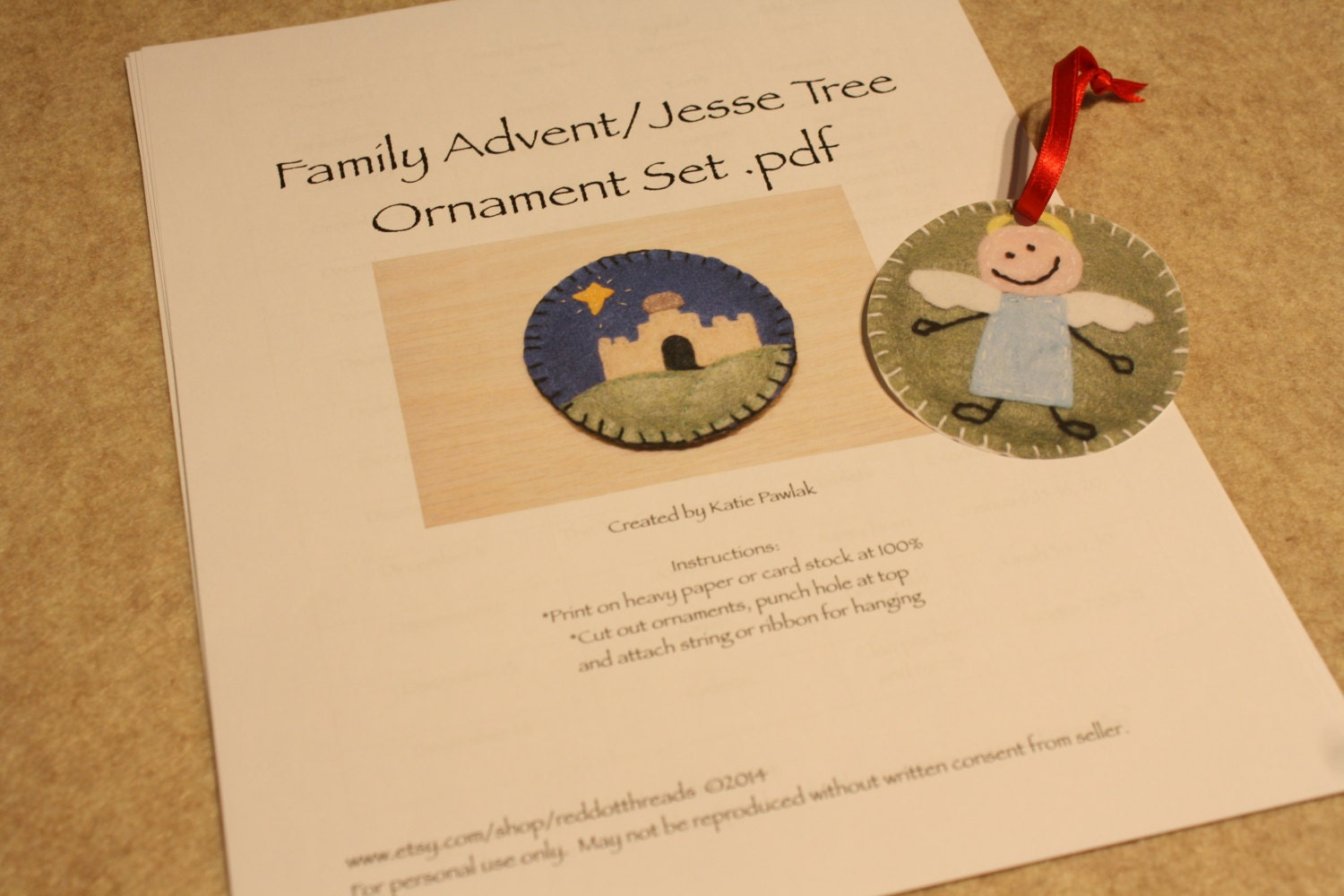 Download and Print Advent Jesse Tree Devotions - Frugal ...